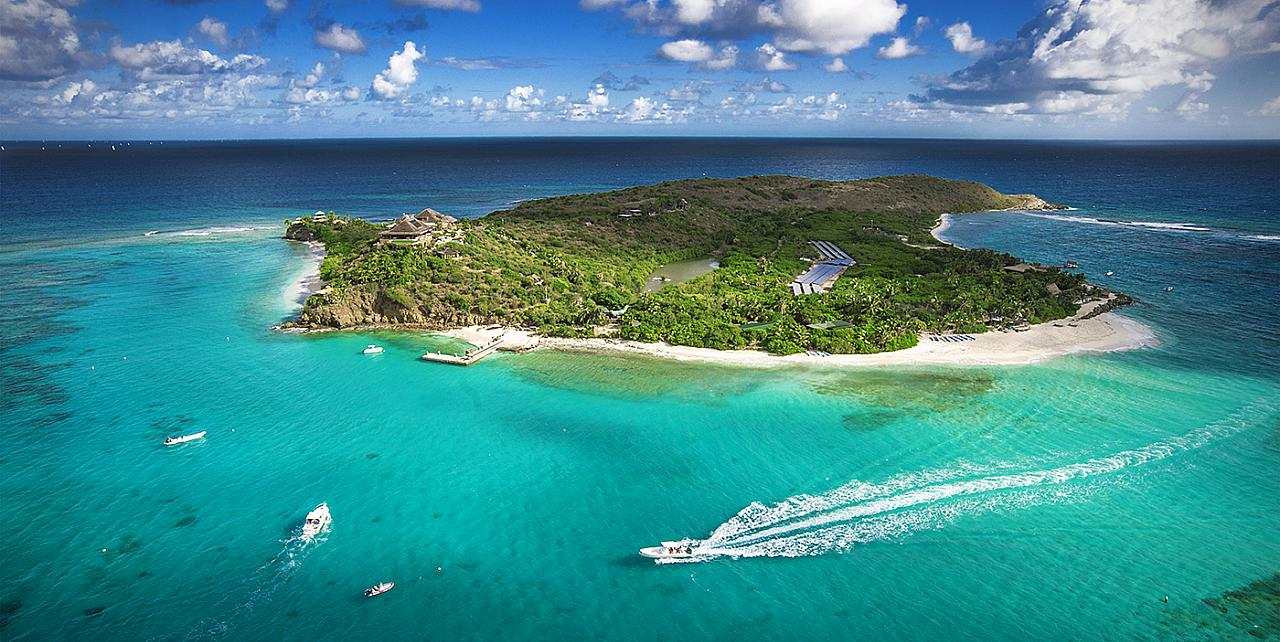 Necker Island - Richard Branson's private island Home in the Caribbean
